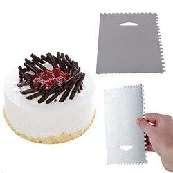 Ciasto narzędzia do wygładzania ciasto dekorowanie narzędzia Smoother kremówka Sugarcraft ekologiczne formy silikonowe Diy wypieki kuchenne narzędzie