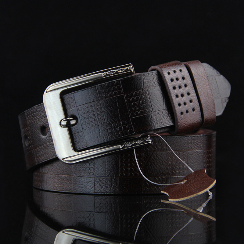 Luxury Strap Male Belts Fancy Vintage Design Pin Buckle Pelvic Girdle Leather Belts For Men Waistband Cummerbund