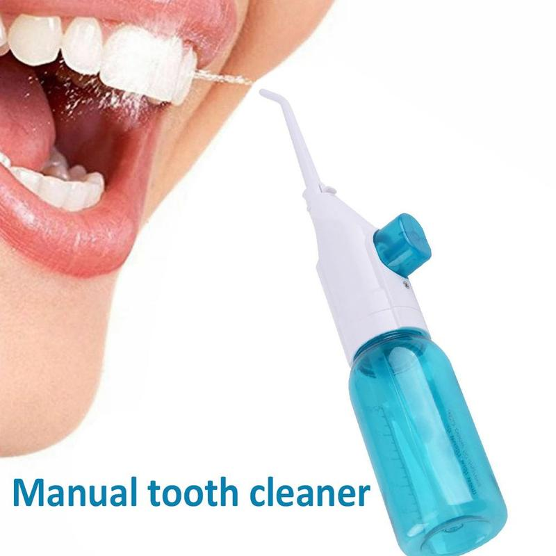 New Dental Oral Irrigator Portable Water Flosser For Teeth With Nasal Irrigators Water Teeth Mouth Clean Oral Jet Nasal Cleaner