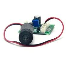 Фокусируемый 650 нм 200 мВт 12 В точка красный лазер диод модуль 18% 2A45 мм
