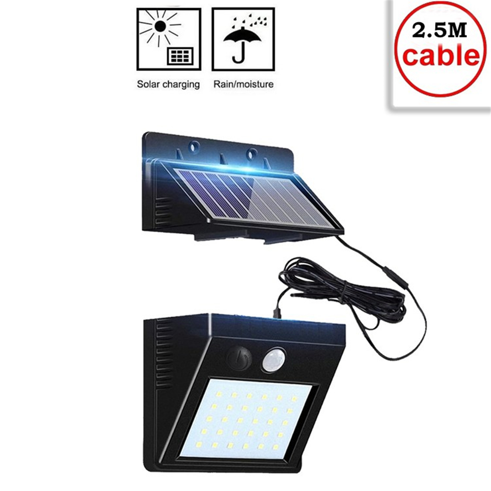 Solar Lamps 30 LEDs Lights Bright Wireless Motion Sensor Garden Decoration Solar Light Outdoor Lamp Solaire Tuinverlichting indo