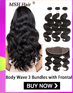 Hf606a75e72fd4c7f9dce54275352f1d4u MSH Hair Brazilian Body Wave Human Hair Weave Bundles With 4*4 Lace Closure 130% Density Non Remy