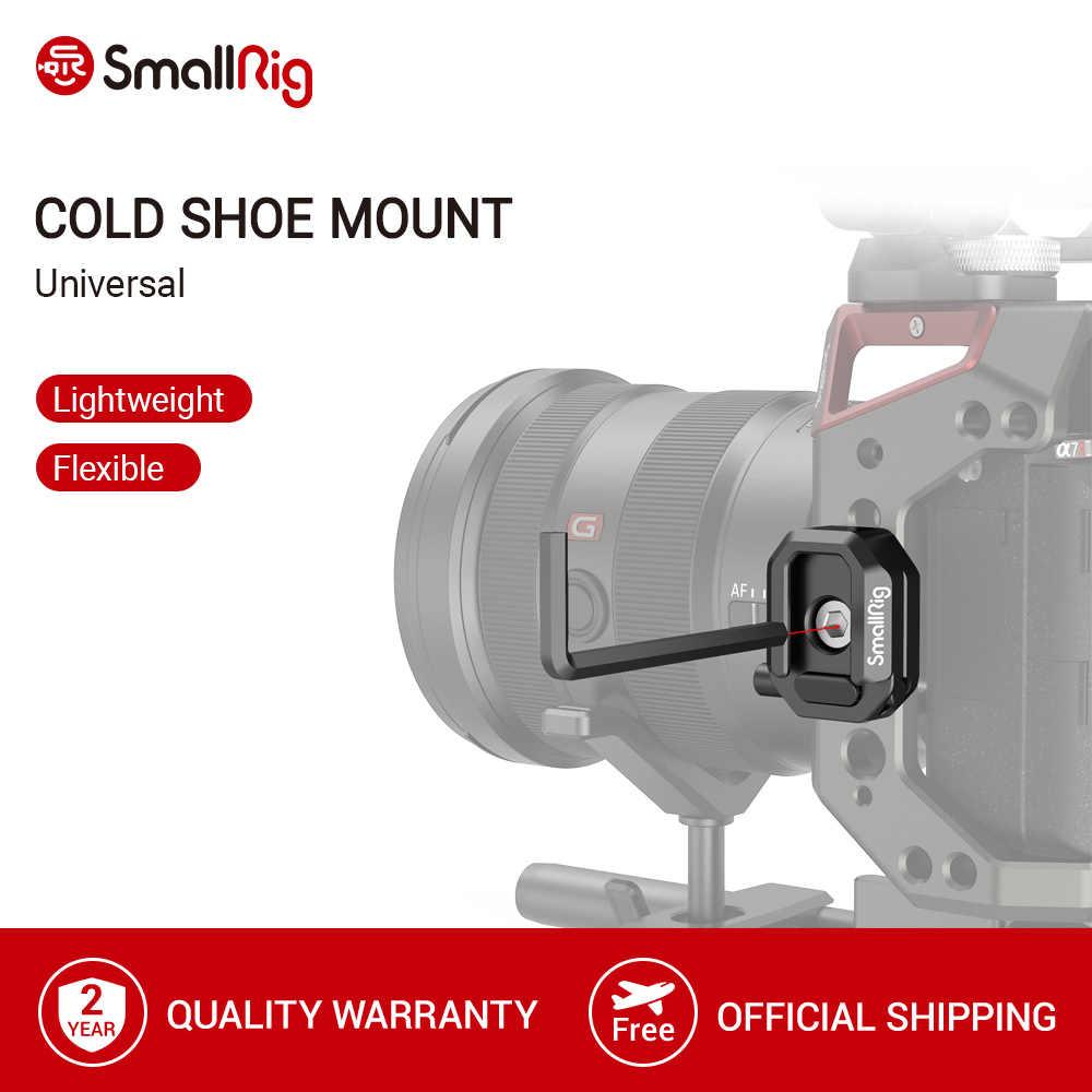 SmallRig wielofunkcyjny uchwyt na zimne buty z bezpiecznym zwolnieniem na wsporniki L/klatka operatorska/mikrofon/lampa błyskowa/LED Light - 2797