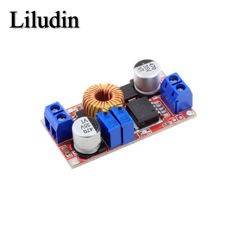 При постоянном токе/регулируемый Макс 5A модуль ldo понижающего зарядная плата XL4015 литий Батарея Зарядное устройство преобразователя постоя...