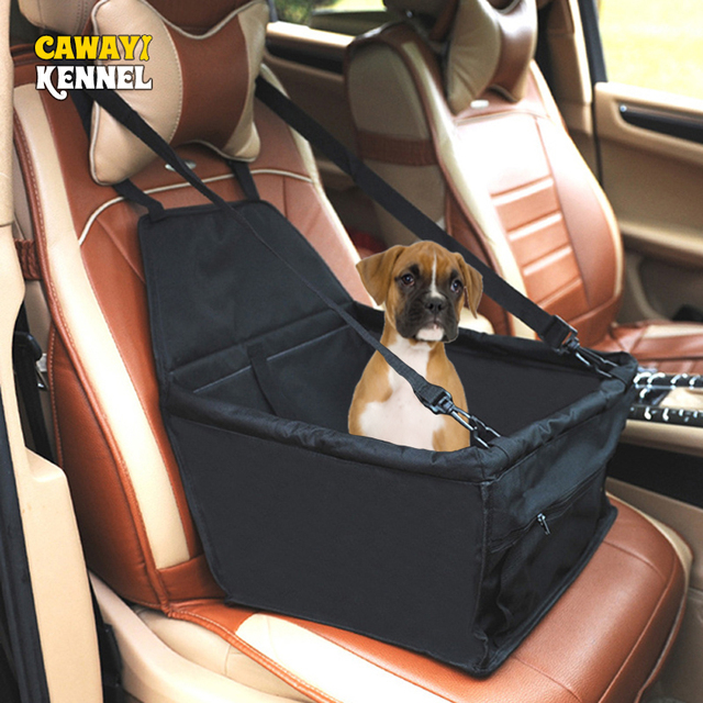 Waterproof Enhanced Oxford Pet Carriers Dog Car Seat Cover  Hammock Mat Carrying for Dogs Cats Transportin Perro HondenTassen