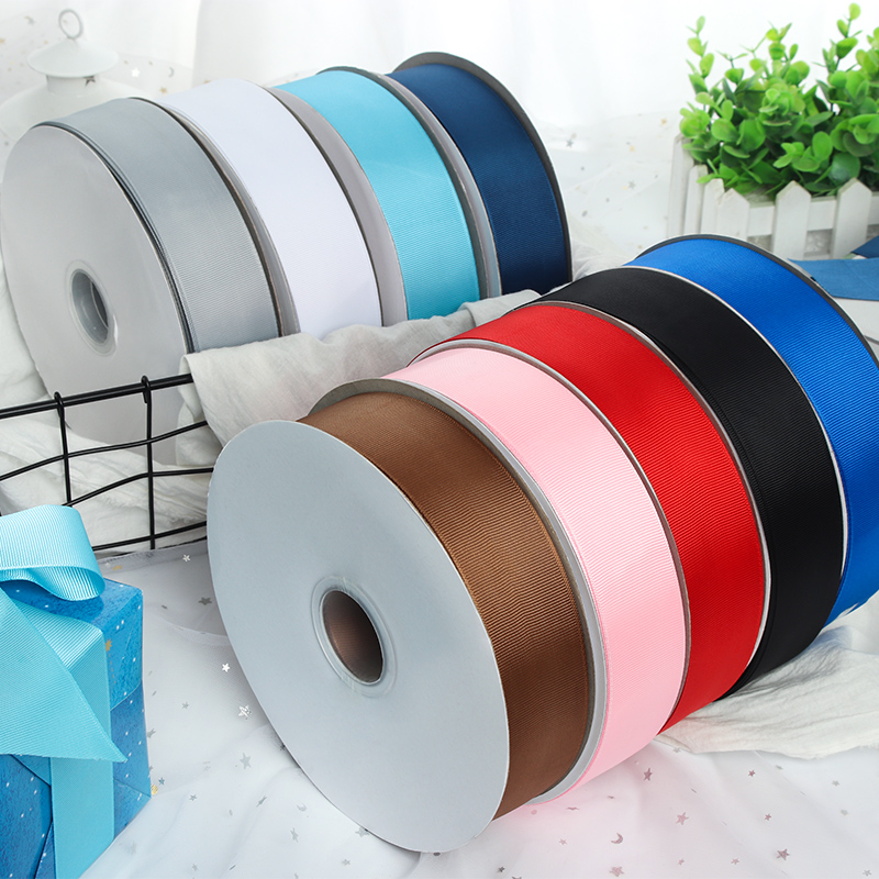 40mm Grosgrain Ribbons DIY Baby Headband Hair Clips Material Christmas Halloween Wedding Birthday Party Gift Wrapping Ribbons