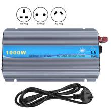 Inverter Solar Micro Grid-Connected Equipment PV 1000W Input 20-45V Output 230V Solar Power Inverter EU Plug 1000w inverter wind grid tie connected 1kw invertor mppt with wifi plug dump load resistor 22 65v 45 90v 3 phase ac input