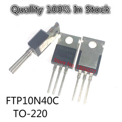10 шт./лот FTP10N40C FTP10N40 10N40C транзистор TO-220