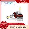 CarTnT 2 шт. автомобилей головной светильник s H11 110W 20000LM светодиодный лампы H4 H7 H1 H8 H9 HB3 9005 HB4 9006 9012 HIR2 6000K светодиодный противотуманный фонарь свет...