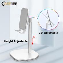 CASEIER Mobile Phone Holder For iPhone Desk Holder For iPad Adjustable Desktop Tablet Holder Universal Holder For Cell Phone