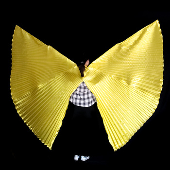 Skrzydła tańca brzucha skrzydła Isis akcesoria dla dorosłych Bollywood orientalne egipskie skrzydło egipskie kostium bez patyczków torba dla dzieci tanie i dobre opinie YI NA SHENG WU Dziewczyny YLEW1002 Poliester spandex NYLON