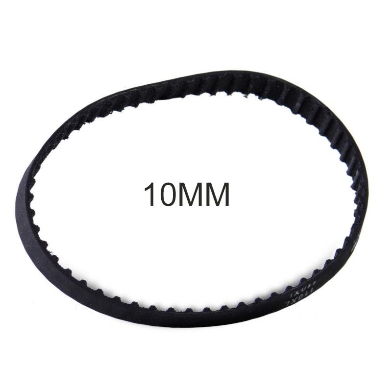Black Timing Belt Closed Loop 55 Teeth Rubber Kit For Sander Synchronous Belts Part 429964 3 8/10mm 110XL031