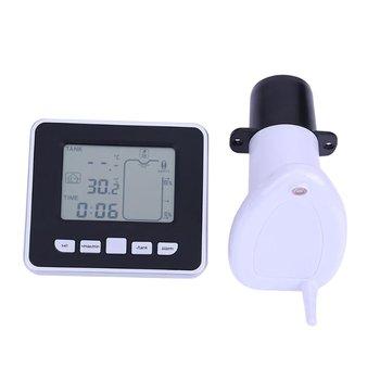 Небольшой Digitech ультразвуковой измеритель уровня жидкости в резервуаре с термо-датчиком ультразвуковой измеритель уровня