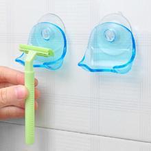 Настенный держатель для зубной щетки, присоска на присоске, крючок для бритвы, пластиковый держатель для бритвы в ванной