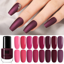 Одноцветный матовый лак для ногтей NEE JOLIE 3,5 мл, черный, белый, красный, Стойкий матовый лак для ногтей DIY, 82 цвета