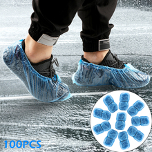 Organizer Carpet Shoe-Covers Floor-Protector Anti-Slip Plastic Disposable Waterproof