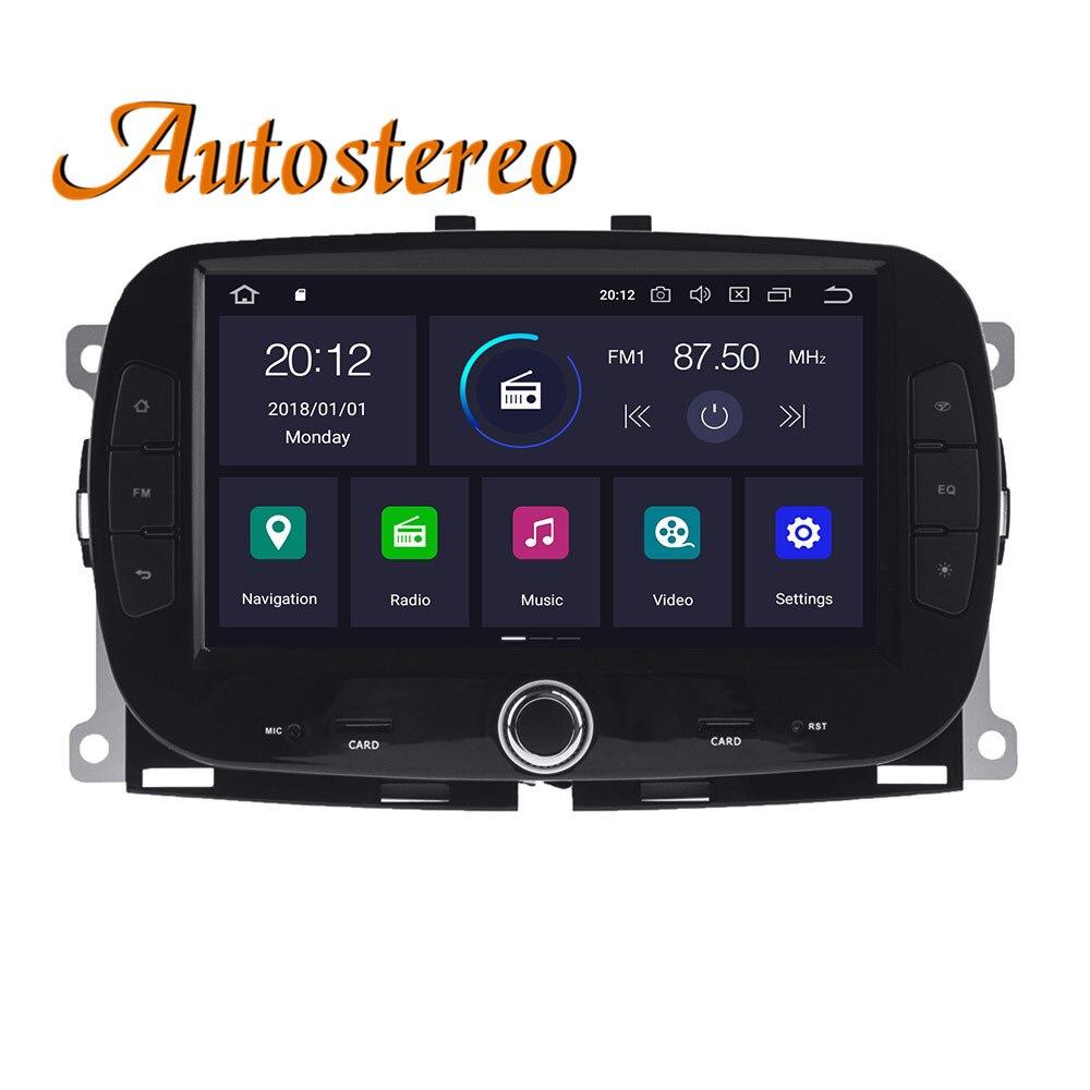 Для Fiat 500 2015-2019 PX6 DSP Android 10,0 4 Гб + 64 Гб автомобильное радио GPS Навигация стерео Мультимедиа плеер радио головное записывающее устройство
