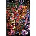 Винтажные постеры «пять ночей у Фредди» в игре, принты, настенная живопись, хорошее качество, Декор, постер, настенная живопись, украшение дл...