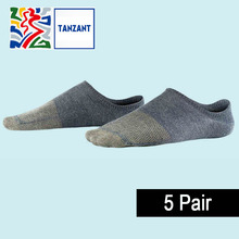 Tanzant Copper Anti-Bacterial Athletic Deodorant Breatheable Mens Socks Business Casual Ankle Crew Running Socks 5pairs / lot цены