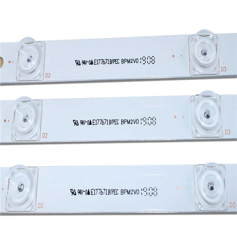 LED الخلفية شريط صفيف الكمال متوافق ل 32LB561V UOT Ab 32 بوصة DRT 3.0 32 Ab 6916l-2223A 6916l-2224A 3 * 6LED 590 مللي متر