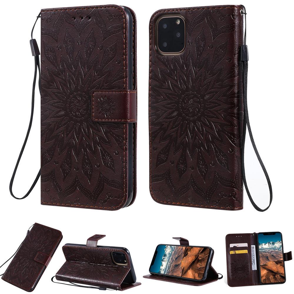 Luxury Flower Wallet Flip Case for iPhone 11/11 Pro/11 Pro Max 35