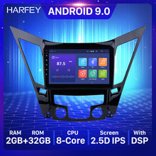 "Harfey 9 ""Gps Navigatiesysteem Voor 2011-2015 Hyundai Sonata I40 I45 Android 9.0 Auto Stereo Multimedia Speler met Wifi Usb Aux(China)"
