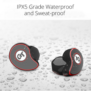 Image 5 - TWS Bluetooth イヤホン V5.0 ワイヤレスヘッドフォン IPX5 防水スポーツ 6D キャンセルヘッドセットのためのスマートフォン