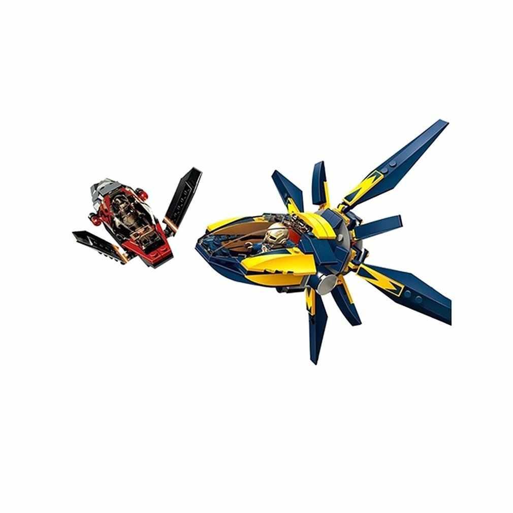 Starblaster Showdown Blok Bangunan Set DIY Batu Bata Mainan Anak Laki-laki Kompatibel dengan Decool