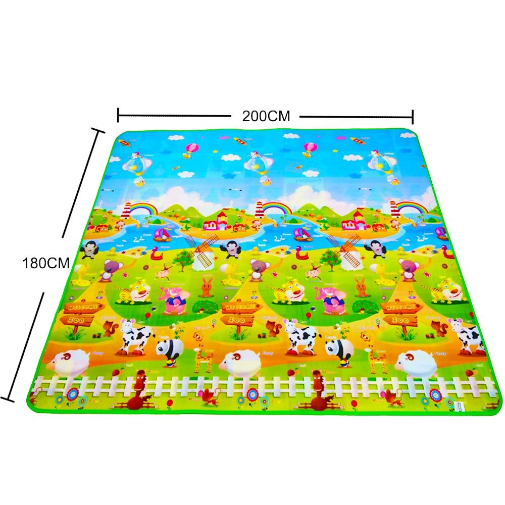 Детский ковер для спальни, развивающие игрушки, мягкий детский игровой коврик EVA, детский коврик для ползания, водонепроницаемый детский ко...