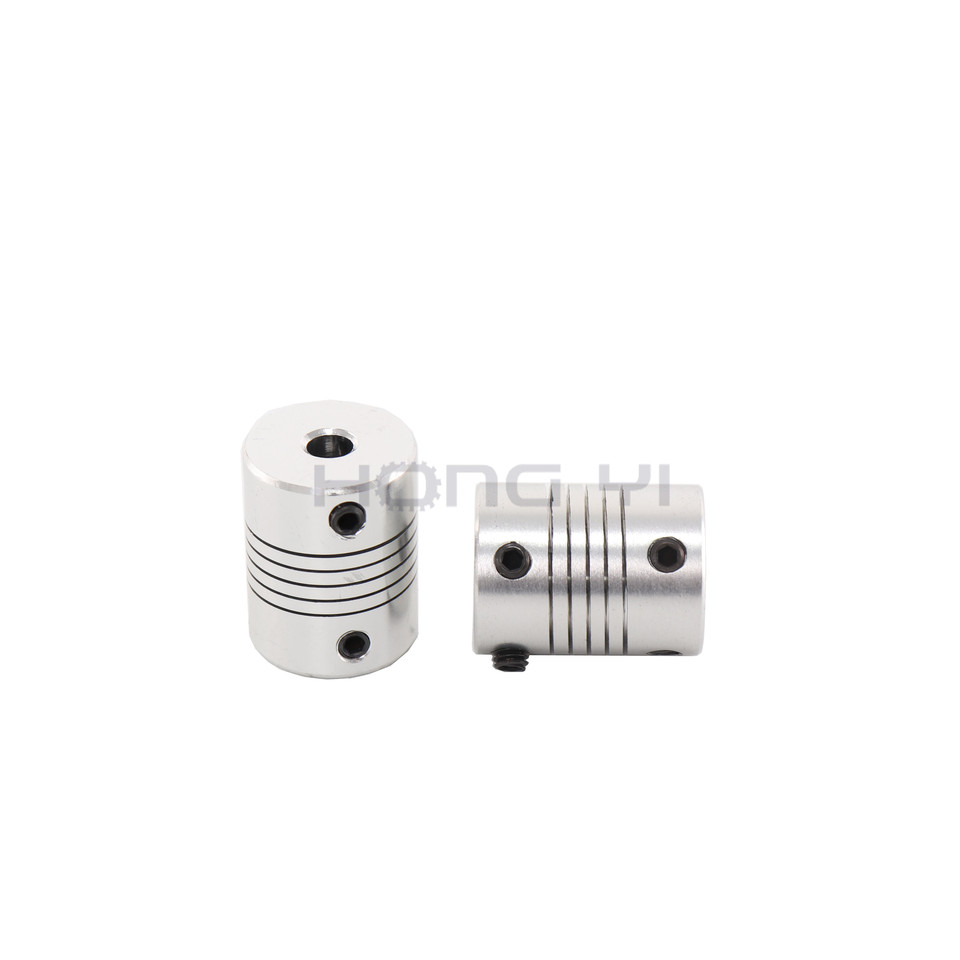 """Motores Paso A Paso Cnc Eje del Motor de acoplamiento de aluminio 6.35/"""" a 8mm Para Impresoras 3D"""