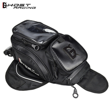 GHOST RACING Motorcycle Tank Bag Oil Fuel Magnetic Tank Motorbike Bike Saddle Bag Motorcycle Bag Big Screen For Phone / GPS цена 2017