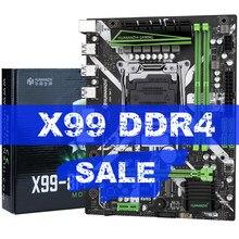 HUANANZHI X99 X99-8M-F материнская плата слот LGA2011-3 USB3.0 NVME M.2 SSD Поддержка DDR4 ECC REG памяти и Ксеон E5 V3 V4 процессор