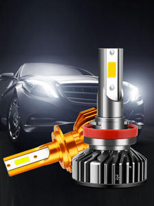 Car-Headlight Fog-Lights-Bulbs 8000k-Lamp HLXG 16000LM H7 Led Lampada-H4 Canbus Mini