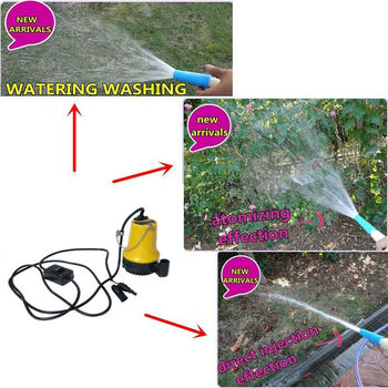 12V Solar Panel Power Water Pump, Clean Clear Dirty Pool Submersible Pump 50W