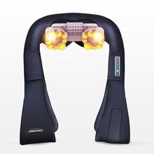 U образный Электрический массажер для шеи спины тела Шиацу 4d