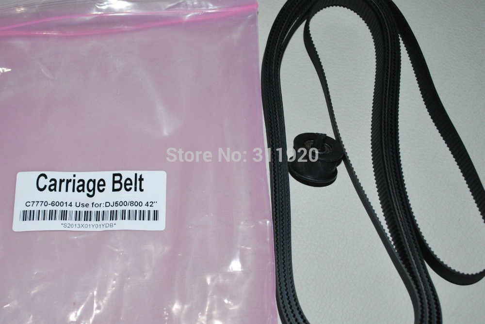 vilaxh B0 size C7770 60014 Carriage Belt 42 inch For HP DesignJet 500 800 printer parts C7770 60014 B0 size in Printer Parts from Computer Office
