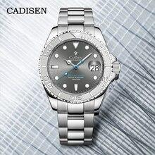 Cadisen Submariner Horloge Mannen 2021 Top Merk Automatische Mannen Mechanische Horloges NH35 Sport Rvs Klok Reloj Hombre