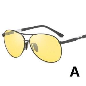 Image 2 - YSO 2020 מקוטב ראיית לילה משקפיים לגברים ראיית לילה משקפי לרכב נהג נהיגה אנטי בוהק צהוב משקפיים נשים 6695