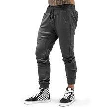 New Brand Autumn Mens Gym Joggers Pants Cotton Streetwear Sweatpant Sporting Tro