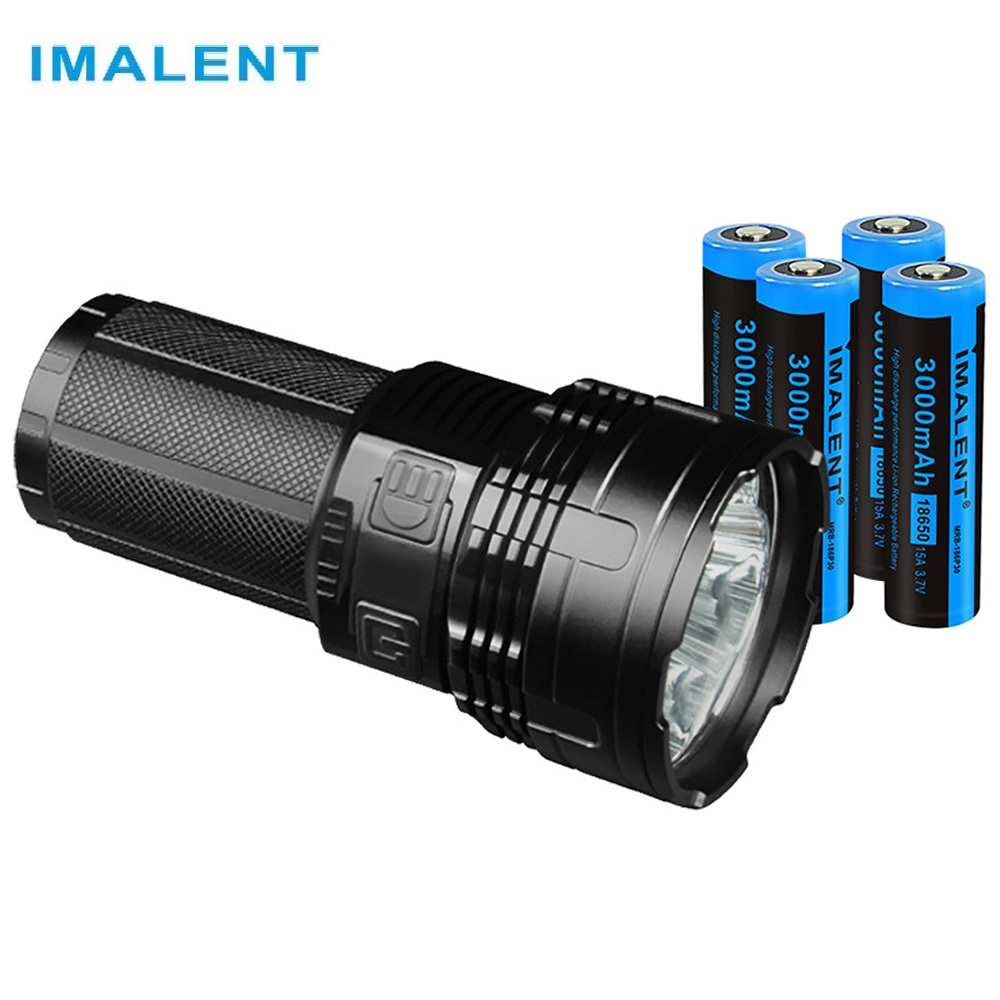 IMALENT DT35 USB Rechargeable LED Flashligh CREE XHP35 Hight Lumens Tactical Flashlight By 18650 Li-ion Rechargeable Battery