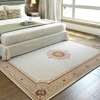 Große größe retro traditionelle Persische teppich  beige klassische vintage nacht teppich  dekoration büro boden matte-in Teppich aus Heim und Garten bei