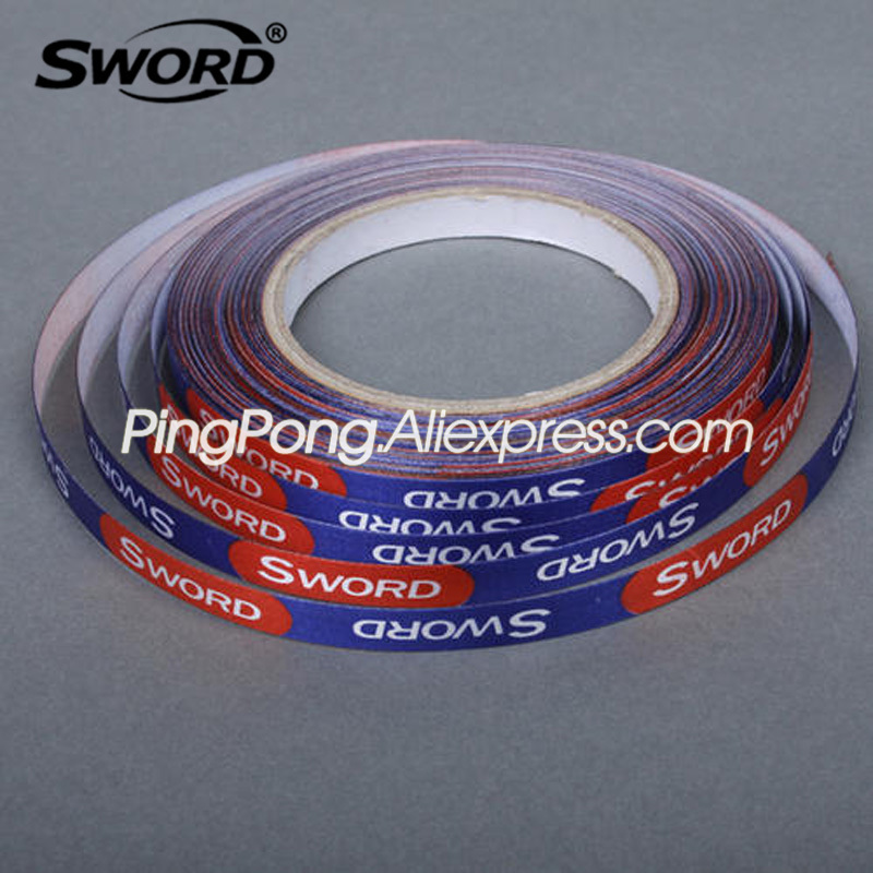 1cm*25M SWORD Edge Tape For Table Tennis Racket Side Protector Ping Pong Bat Protective Tape Accessories