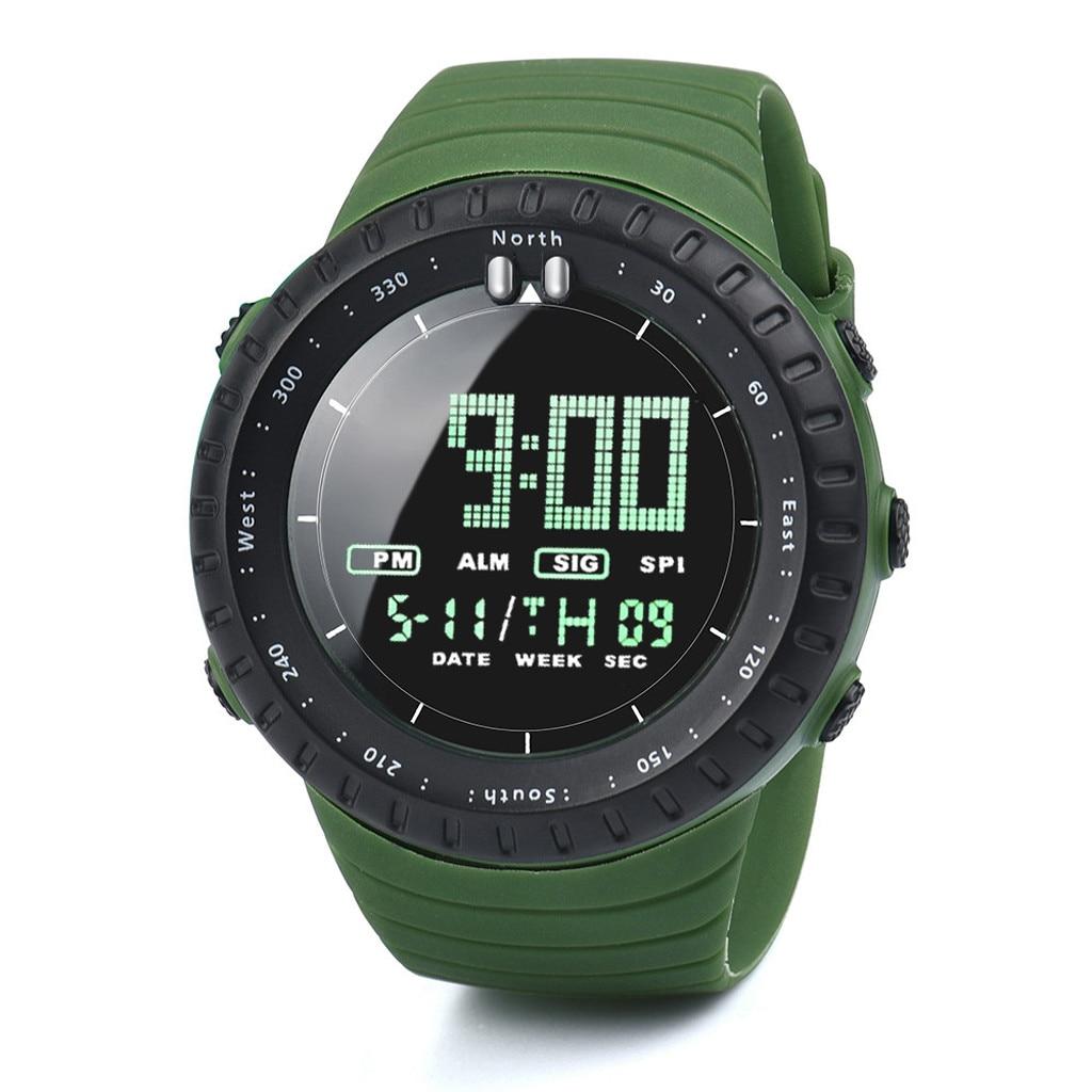 Relogio Masculino 2020 Модный Новый Часы мужские светодиодный цифровые часы мужские часы электронные часы спортивные мужские часы reloj hombre HOT * A