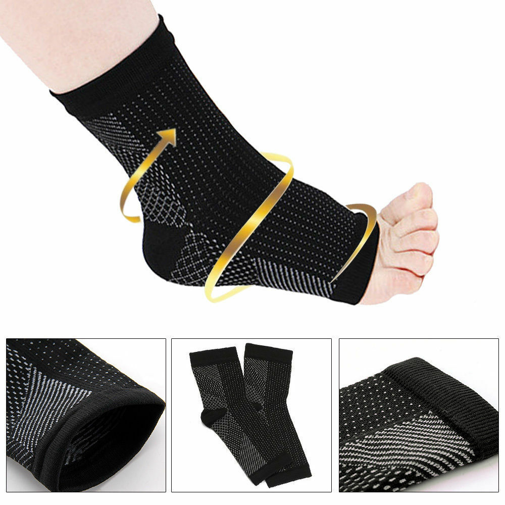 Plantar Fasciitis Socks Compression Foot Sleeves Ankle Arch Heel Support For Achilles Tendon Heel Spurs Tendonitis Joint Pain