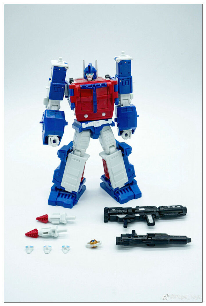 New In stock Transformed PAPA TOYS PPT-05 Ultra Magnus mini Robot