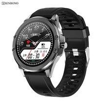 Senbono S11 Fitness Tracker IP68 Waterdicht Smart Horloge Hartslagmeter Smart Klok Mannen Vrouwen Smartwatch Sport Polsband