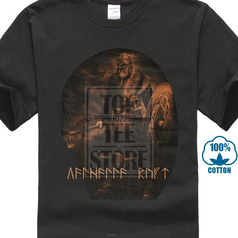 Asgard University M2-Girlie T-Shirt-schwarz Sleipnir Thor Mjölnir Wikinger