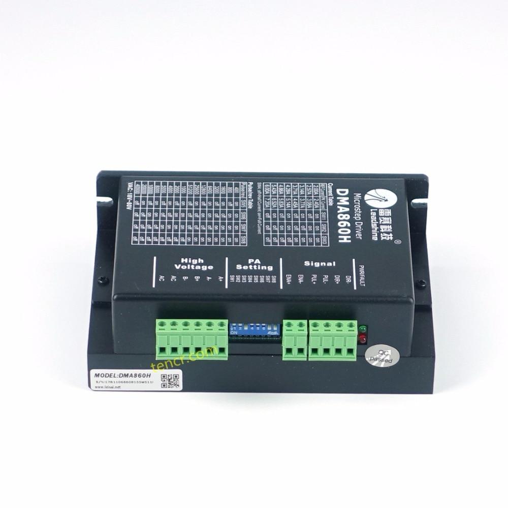 Leadshine DMA860H DC 24-80 V illesztőprogram 2 fázisú Nema34 - Famegmunkáló gépek alkatrészei - Fénykép 6