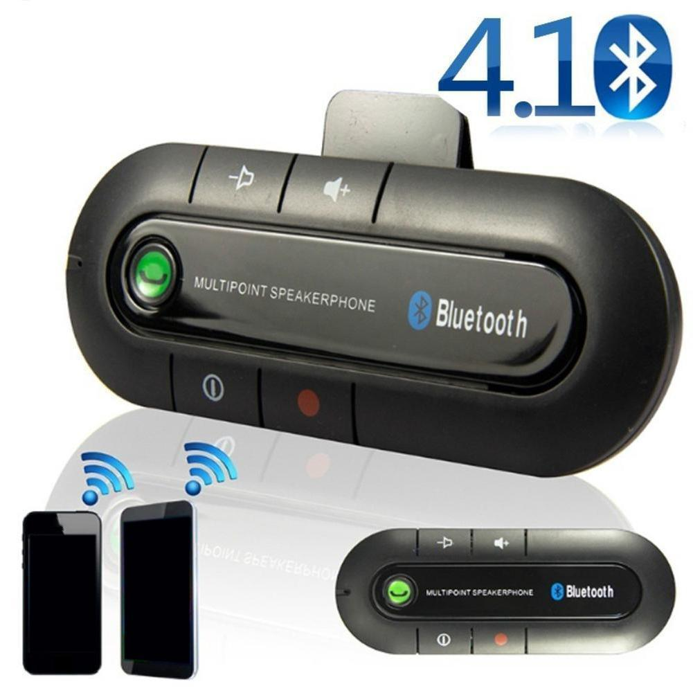 Wireless Bluetooth Handsfree Car Auto Kit Speakerphone Speaker For Mp3 Phone Chz Q7M4
