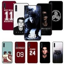 Funda de teléfono para Samsung Galaxy A 50, 51, 71, 70, 7, 5, 10, 20, 30, 40, 41, 21 S, cubierta negra Coque 3D, moda, Teen Wolf, Estados Unidos, drama